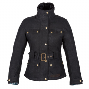 Spada Hartbury Ladies Waxed Cotten Jacket Black